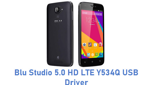 Blu Studio 5.0 HD LTE Y534Q USB Driver