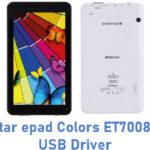 Eurostar epad Colors ET7008C-B13 USB Driver