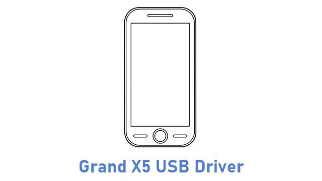 Grand X5 USB Driver