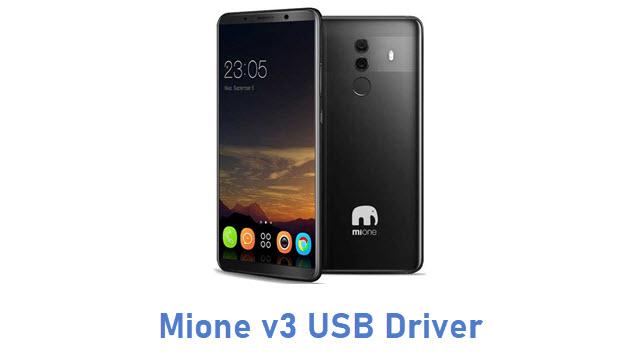 Mione v3 USB Driver