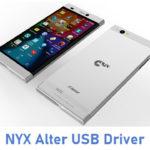 NYX Alter USB Driver