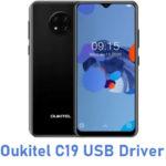 Oukitel C19 USB Driver