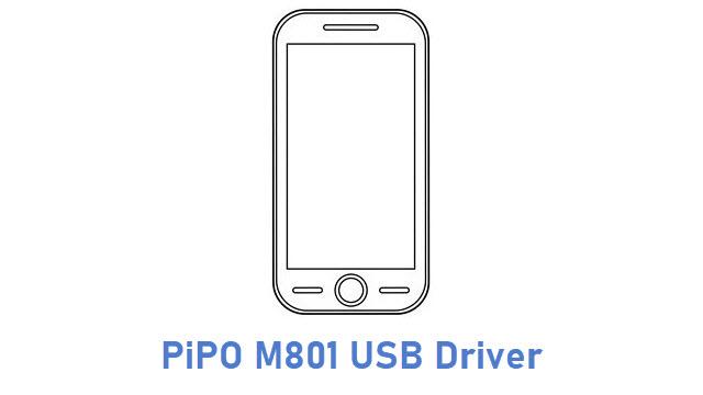 PiPO M801 USB Driver