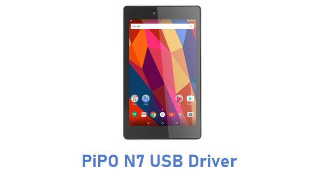 PiPO N7 USB Driver