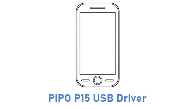 PiPO P15 USB Driver