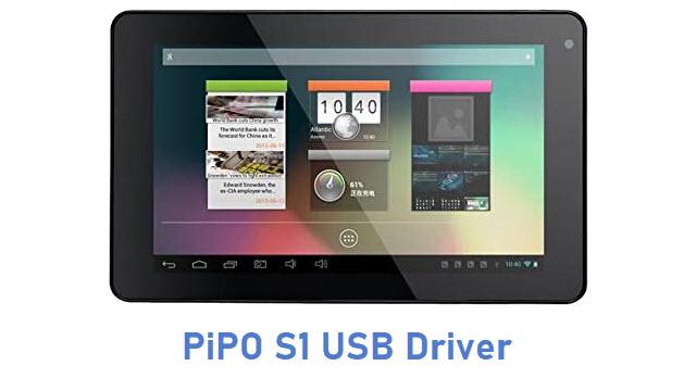 PiPO S1 USB Driver