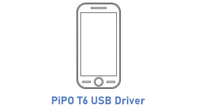 PiPO T6 USB Driver
