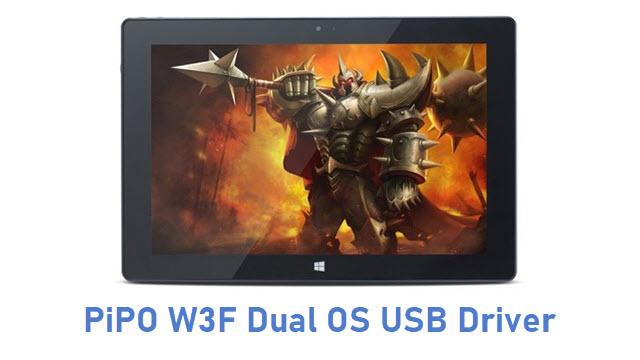 PiPO W3F Dual OS USB Driver