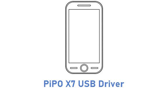 PiPO X7 USB Driver