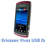 Sony Ericsson Vivaz USB Driver