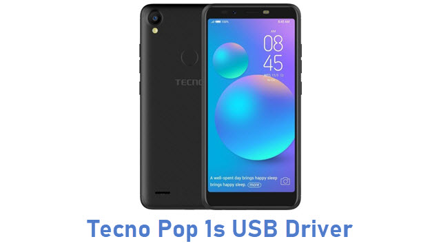 Tecno Pop 1s USB Driver