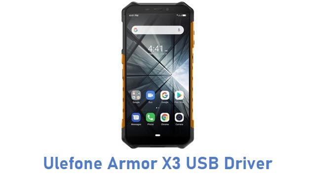Ulefone Armor X3 USB Driver