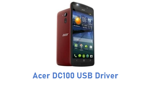 Acer DC100 USB Driver
