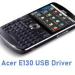 Acer E130 USB Driver