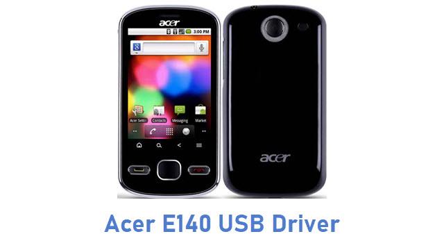 Acer E140 USB Driver