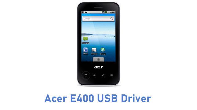 Acer E400 USB Driver