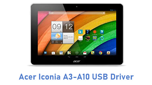 Acer Iconia A3-A10 USB Driver