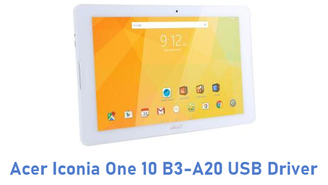 Acer Iconia One 10 B3-A20 USB Driver