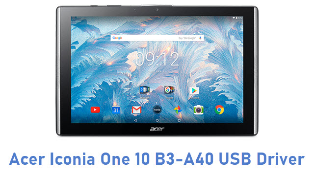 Acer Iconia One 10 B3-A40 USB Driver