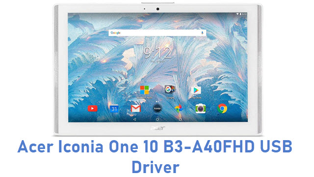 Acer Iconia One 10 B3-A40FHD USB Driver