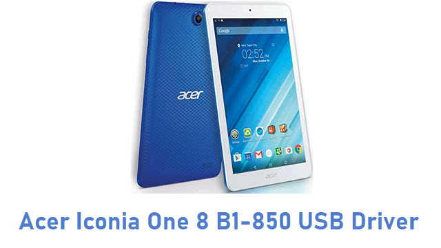 Acer Iconia One 8 B1-850 USB Driver