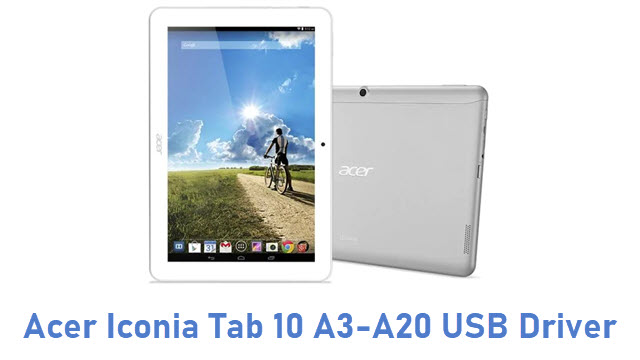 Acer Iconia Tab 10 A3-A20 USB Driver