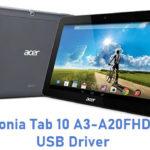 Acer Iconia Tab 10 A3-A20FHD-K0CQ USB Driver