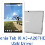 Acer Iconia Tab 10 A3-A20FHD-K8KX USB Driver