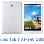 Acer Iconia Tab 8 A1-840 USB Driver
