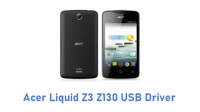 Acer Liquid Z3 Z130 USB Driver