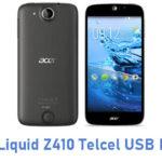 Acer Liquid Z410 Telcel USB Driver