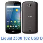 Acer Liquid Z530 T02 USB Driver