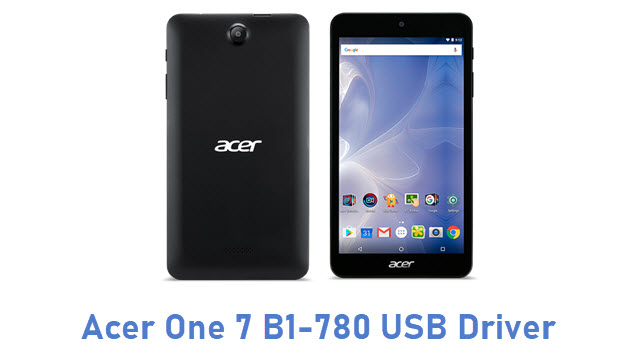 Acer One 7 B1-780 USB Driver
