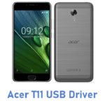 Acer T11 USB Driver