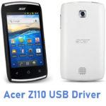 Acer Z110 USB Driver