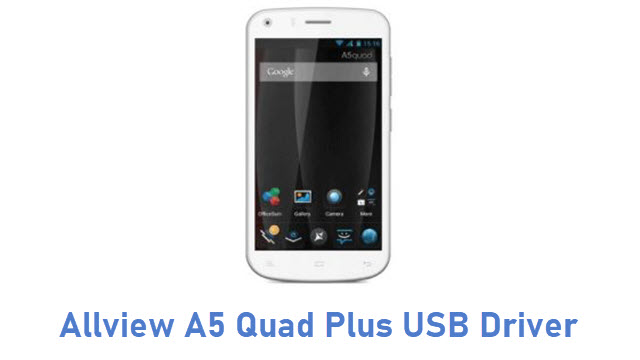 Allview A5 Quad Plus USB Driver