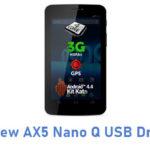 Allview AX5 Nano Q USB Driver