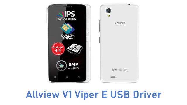 Allview V1 Viper E USB Driver