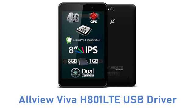 Allview Viva H801LTE USB Driver