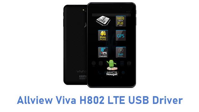 Allview Viva H802 LTE USB Driver