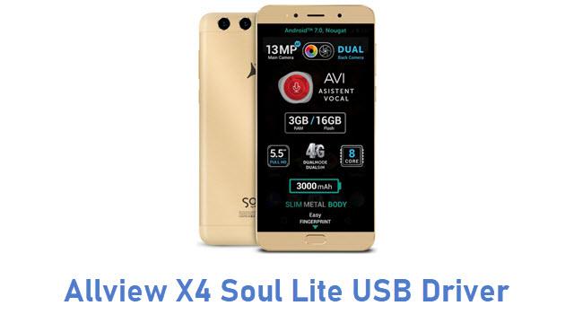 Allview X4 Soul Lite USB Driver