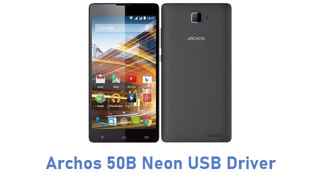 Archos 50B Neon USB Driver