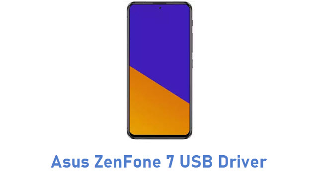 Asus ZenFone 7 USB Driver