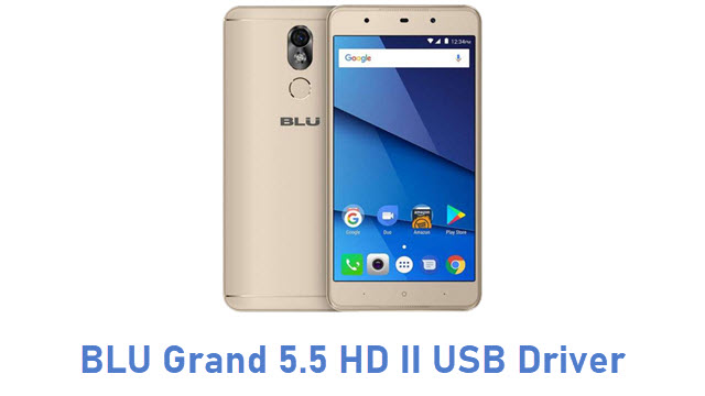 BLU Grand 5.5 HD II USB Driver