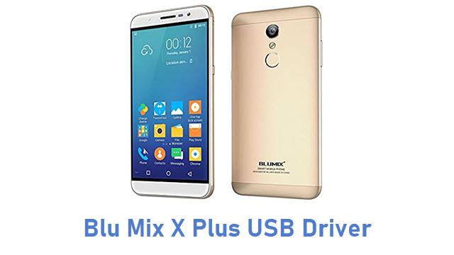 Blu Mix X Plus USB Driver