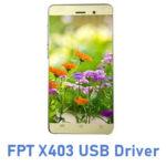 FPT X403 USB Driver