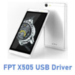 FPT X505 USB Driver