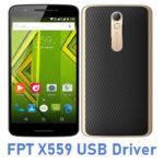 FPT X559 USB Driver