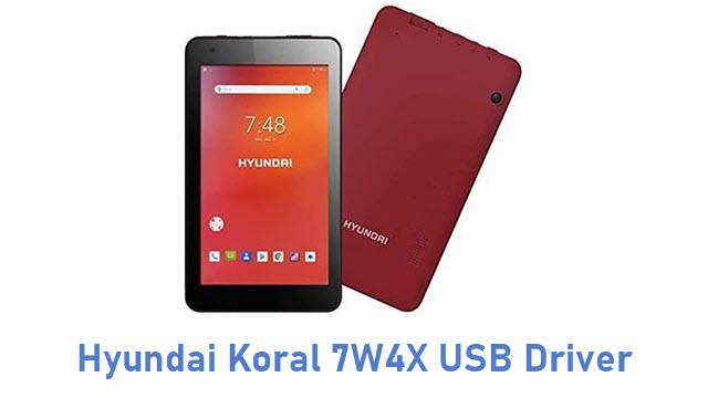 Hyundai Koral 7W4X USB Driver