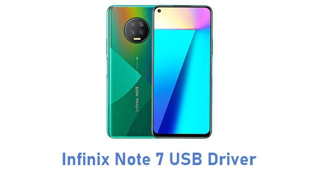 Infinix Note 7 USB Driver